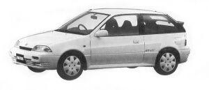 Suzuki Cultus GT-I 1992 г.