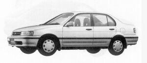 Toyota Tercel 4DOOR VX 4WD 1500EFI 1992 г.
