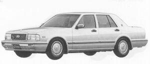 Nissan Gloria 4DOOR V30E VIP 1992 г.