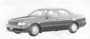 Toyota Crown 4DOOR H/T ROYAL SALOON G 1992 г.