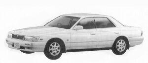 Nissan Laurel 2500 24V V 1992 г.