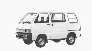 Daihatsu Hijet VAN STANDARD 2WD 1992 г.