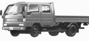 Mazda Titan W 2T WIDE CABIN LONG BODY 4.6L 1992 г.