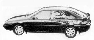 Mazda Familia ASTINA 1800 DOHC 16VALVE 1992 г.