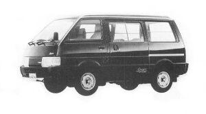 Nissan Vanette VAN 4WD 5DOOR DIESEL 2000DX 1992 г.