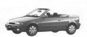 Suzuki Cultus CONVERTIBLE 1992 г.