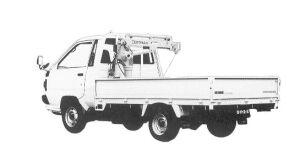 Toyota Liteace Truck CRANE 1992 г.