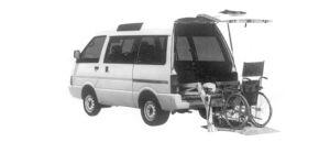 Nissan Vanette CHAIR CAB VX 1992 г.
