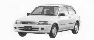 Toyota Starlet 3DOOR 1992 г.