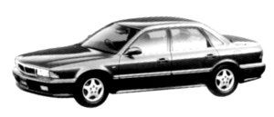 Mitsubishi Sigma 30R-SE 4WD 1992 г.