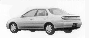 Toyota Carina SEDAN 1600 SX-I ABS 1992 г.