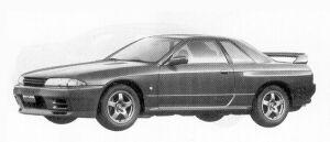 Nissan Skyline 2DOOR SPORT TYPE GT-R 1992 г.