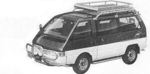 Nissan Vanette LARGO COACH DIESEL TURBO 2000 1992 г.