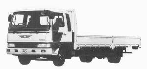 Hino Ranger CRUISING FD WIDE CAB 3.75T 1992 г.