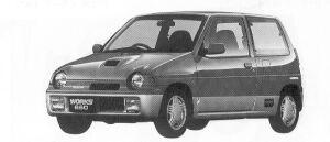 Suzuki Alto Works RS/R 1992 г.