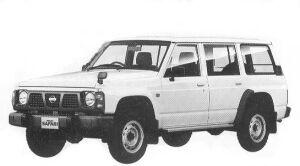 Nissan Safari VAN EXTRA DX 4200 DIESEL 1992 г.