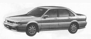 Mitsubishi Eterna SAVA 2.0DOHC LX-4 1990 г.