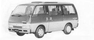 Isuzu Fargo WAGON 2WD LS SUN ROOF TURBO DIESEL 1990 г.