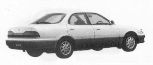 Toyota Vista 2000VX FULL TIME 4WD 1990 г.