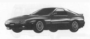 Mazda Savanna RX-7 GT-X 1990 г.