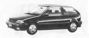 Suzuki Cultus 3DOOR ELENY S 1000 1990 г.
