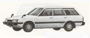 Subaru REX 4WD-LC 1990 г.