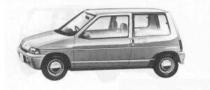 Suzuki Alto 3DOOR 1990 г.