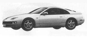 Nissan Fairlady Z 300ZX 1990 г.