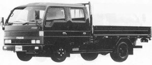 Mazda Titan 2T WIDE CABIN LONG BODY 3500 1990 г.
