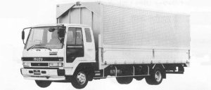 Isuzu Forward 210PS INTERCOOLER TURBO WING BODY 2.75T 1990 г.