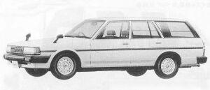 Toyota Mark II VAN 2400 DIESEL DX 1990 г.