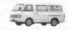 Mazda Bongo BRAWNY WAGON  2000 GASOLINE DX 1990 г.