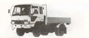 Mitsubishi Fighter 4WD 3.75T 1990 г.
