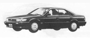 Nissan Bluebird 4DOOR 2000SSS-X II 1990 г.