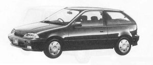 Suzuki Cultus 3DOOR 1300 1990 г.