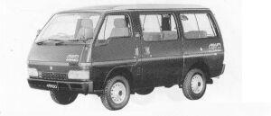 Isuzu Fargo WAGON 4WD LT TURBO DIESEL 1990 г.