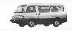 Mazda Bongo BRAWNY WAGON  2000 GASOLINE GSX 1990 г.