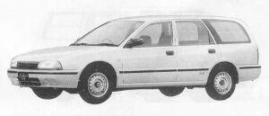 Nissan Avenir CARGO-G 4WD 1990 г.