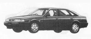 Mazda Capella CG 1800DOHC 4WS 1990 г.