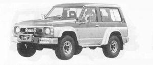 Nissan Safari HARD TOP GRAN ROAD 1990 г.
