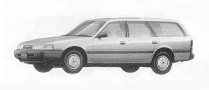 Mazda Capella CARGO 1600 GL 1990 г.