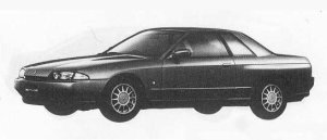 Nissan Skyline 2DOOR SPORT GTS TYPE-S 1990 г.