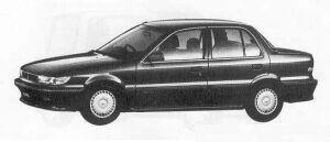 Mitsubishi Mirage 1600 DOHC VIE 1990 г.