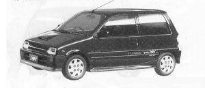 Daihatsu Mira TURBO TR-XX EFI LIMITED 1990 г.