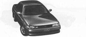 Toyota Carina ED G 1990 г.
