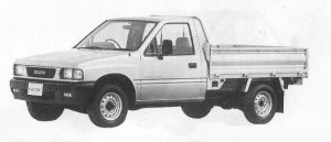 Isuzu Faster LONG BODY FLAT DECK 1990 г.