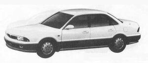 Mitsubishi Sigma 30R-S 1990 г.