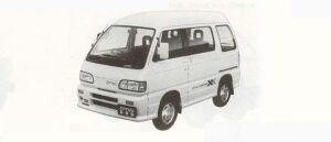 Daihatsu Atrai TURBO-XX ALL TIME 4WD 1990 г.