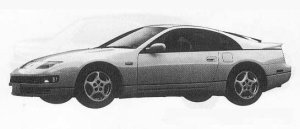 Nissan Fairlady Z 300ZX TWIN TURBO 1990 г.
