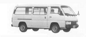 Nissan Homy VAN 5DOOR 2700 DIESEL DX 1990 г.